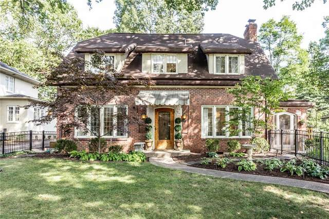 404 E 55th Street E, Indianapolis, IN 46220 (MLS #21737916) :: Mike Price Realty Team - RE/MAX Centerstone