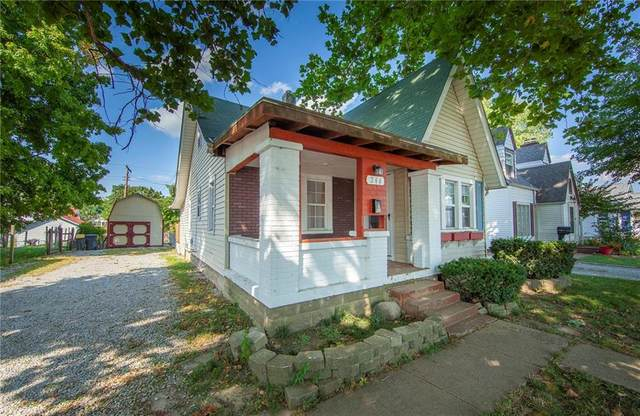 244 W 38th Street, Anderson, IN 46013 (MLS #21737957) :: Mike Price Realty Team - RE/MAX Centerstone