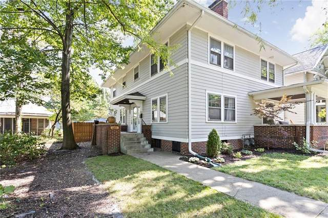 683 Woodruff Place Middle Drive, Indianapolis, IN 46201 (MLS #21738007) :: Dean Wagner Realtors