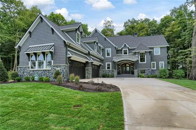 11082 Holliday Farms Boulevard, Zionsville, IN 46077 (MLS #21738010) :: Richwine Elite Group