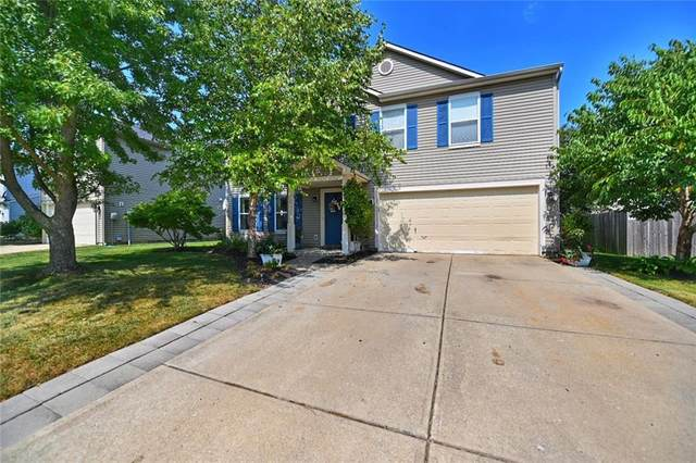 10002 Orange Blossom, Fishers, IN 46038 (MLS #21738038) :: Mike Price Realty Team - RE/MAX Centerstone