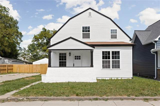 3114 E New York Street, Indianapolis, IN 46201 (MLS #21738055) :: Dean Wagner Realtors