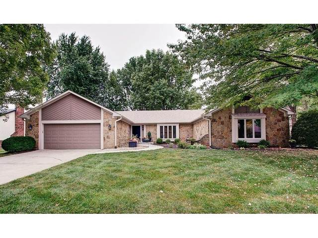 9121 Tansel Court, Indianapolis, IN 46234 (MLS #21738085) :: David Brenton's Team