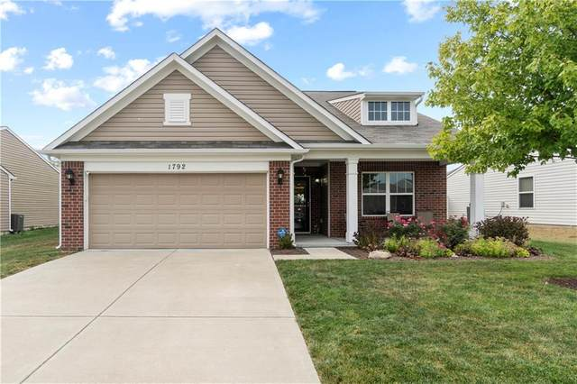 1792 Persimmon Grove Drive, Indianapolis, IN 46234 (MLS #21738094) :: David Brenton's Team