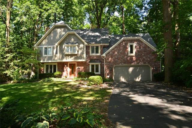 7414 Shadow Wood Drive, Indianapolis, IN 46254 (MLS #21738166) :: Anthony Robinson & AMR Real Estate Group LLC