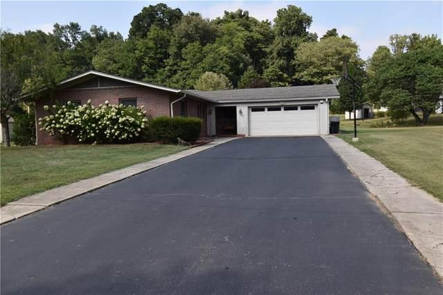 1260 E Harrison Street, Martinsville, IN 46151 (MLS #21738210) :: The ORR Home Selling Team