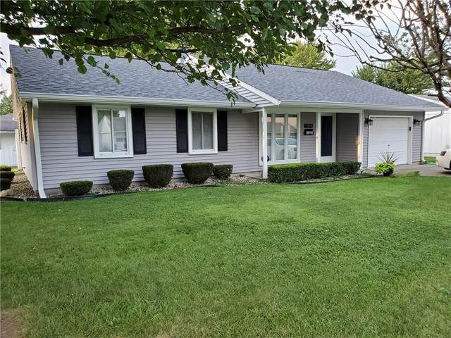 1214 Madison Road, Elwood, IN 46036 (MLS #21738234) :: The ORR Home Selling Team