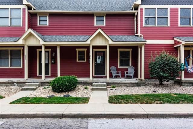 323 E 11th Street, Indianapolis, IN 46202 (MLS #21738305) :: Ferris Property Group