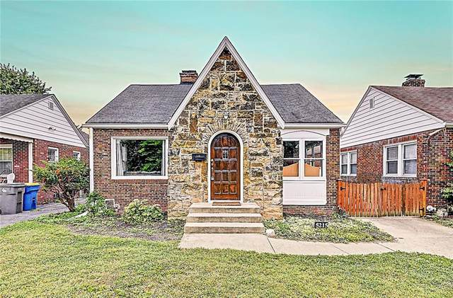 5215 E 9th Street, Indianapolis, IN 46219 (MLS #21738379) :: Anthony Robinson & AMR Real Estate Group LLC