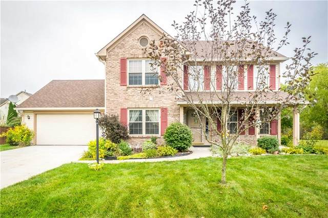 5845 Iron Oaks Court, Indianapolis, IN 46237 (MLS #21738411) :: Richwine Elite Group