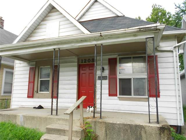 1208 S Keystone Avenue, Indianapolis, IN 46203 (MLS #21738433) :: Ferris Property Group