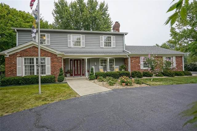 6641 Kingswood, Indianapolis, IN 46256 (MLS #21738492) :: Dean Wagner Realtors
