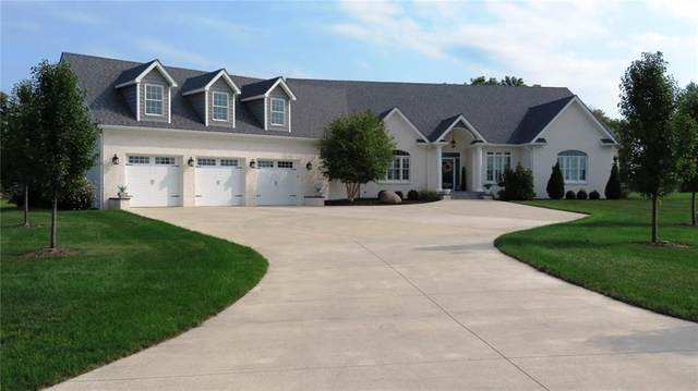 6050 E Holes Crossing Drive, Crawfordsville, IN 47933 (MLS #21738505) :: The Indy Property Source