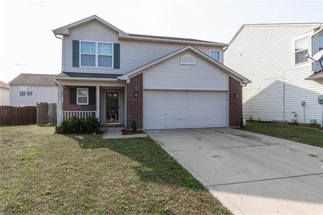 3942 Narrowleaf Court, Indianapolis, IN 46235 (MLS #21738517) :: David Brenton's Team