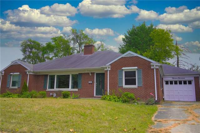 1319 E 8TH Street, Anderson, IN 46012 (MLS #21738540) :: The Evelo Team