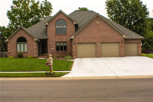 1581 Forest Commons Drive, Avon, IN 46123 (MLS #21738570) :: Mike Price Realty Team - RE/MAX Centerstone