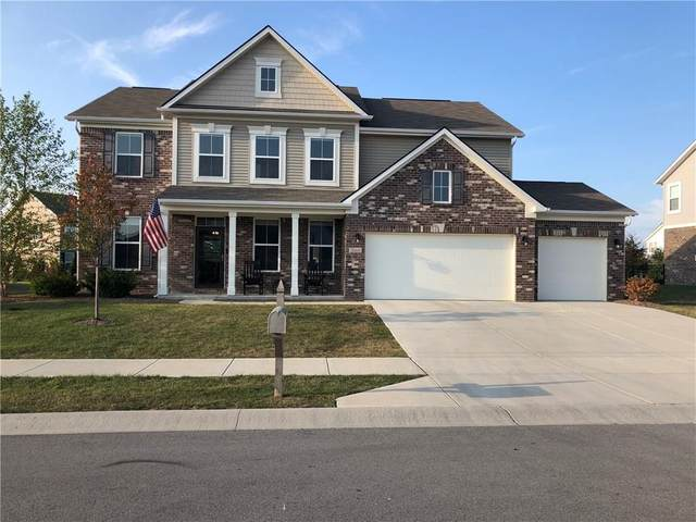 5664 W Compass Pointe, Mccordsville, IN 46055 (MLS #21738599) :: The Evelo Team