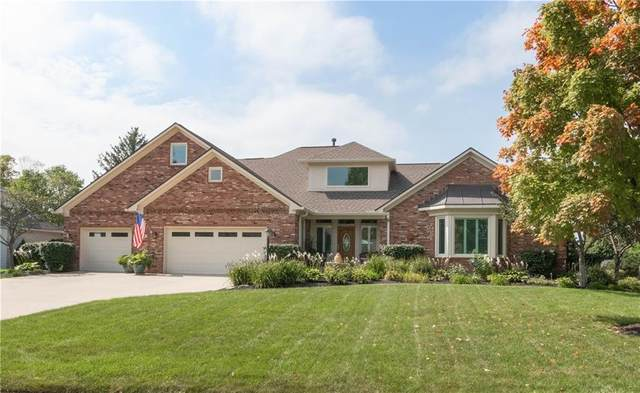 7450 Perrier Drive, Indianapolis, IN 46278 (MLS #21738603) :: Mike Price Realty Team - RE/MAX Centerstone