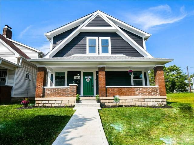 1852 Singleton Street, Indianapolis, IN 46203 (MLS #21738613) :: The ORR Home Selling Team