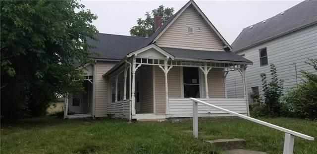 1429 Sherman Street, Anderson, IN 46016 (MLS #21738615) :: Richwine Elite Group