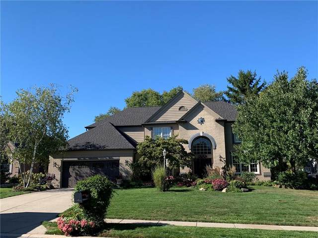 11950 Pebblepointe Pass, Carmel, IN 46033 (MLS #21738623) :: Mike Price Realty Team - RE/MAX Centerstone