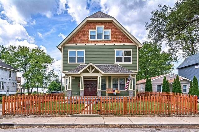 1102 Tecumseh Street, Indianapolis, IN 46201 (MLS #21738628) :: Realty ONE Group Dream