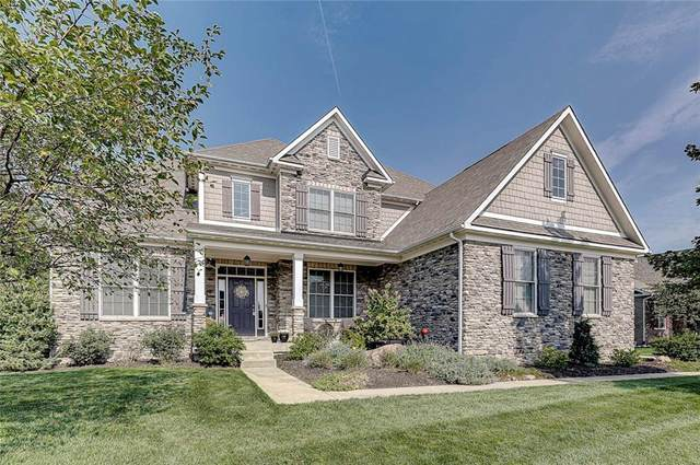15338 Dunrobin Drive, Noblesville, IN 46062 (MLS #21738630) :: Heard Real Estate Team | eXp Realty, LLC