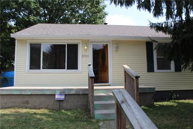 2523 S Mc Clure Street, Indianapolis, IN 46241 (MLS #21738656) :: Mike Price Realty Team - RE/MAX Centerstone