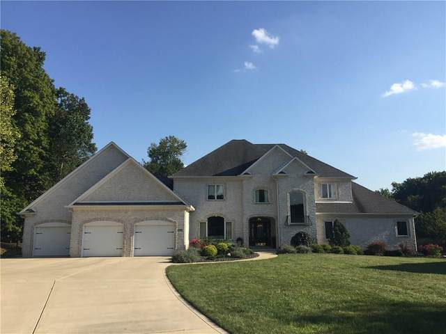 7095 Hickory Hollow Court, Plainfield, IN 46168 (MLS #21738691) :: David Brenton's Team