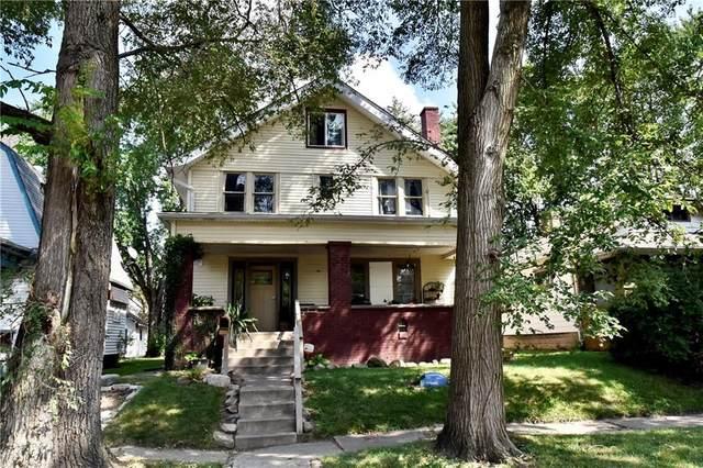 437 N Euclid Avenue, Indianapolis, IN 46201 (MLS #21738714) :: David Brenton's Team