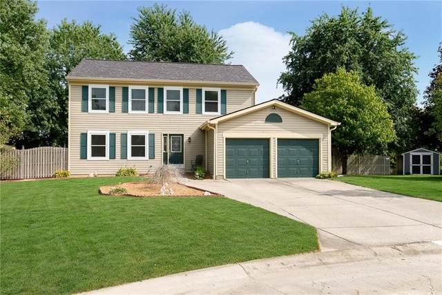 909 Farmview Lane, Carmel, IN 46032 (MLS #21738745) :: Anthony Robinson & AMR Real Estate Group LLC