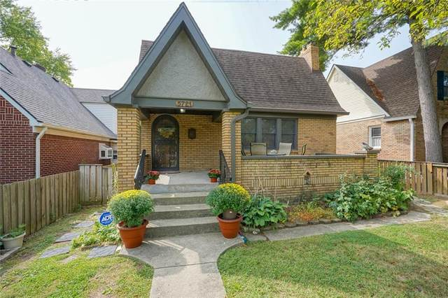 5721 E 10TH Street, Indianapolis, IN 46219 (MLS #21738755) :: Heard Real Estate Team | eXp Realty, LLC