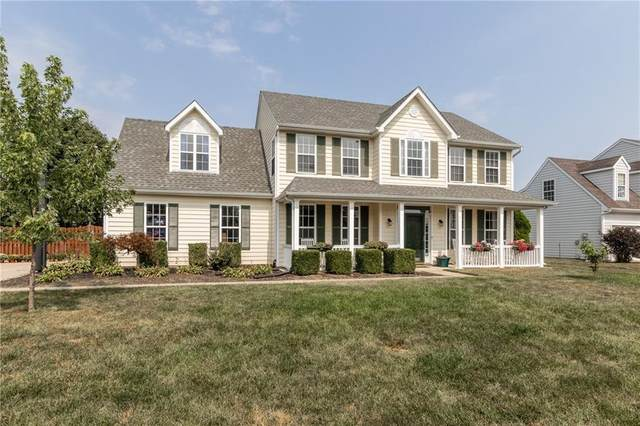 6844 Russet Drive, Plainfield, IN 46168 (MLS #21738768) :: David Brenton's Team