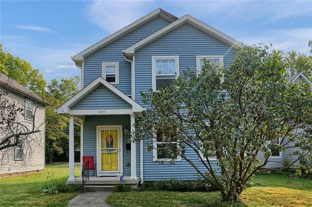 2835 Highland Place, Indianapolis, IN 46208 (MLS #21738926) :: The ORR Home Selling Team