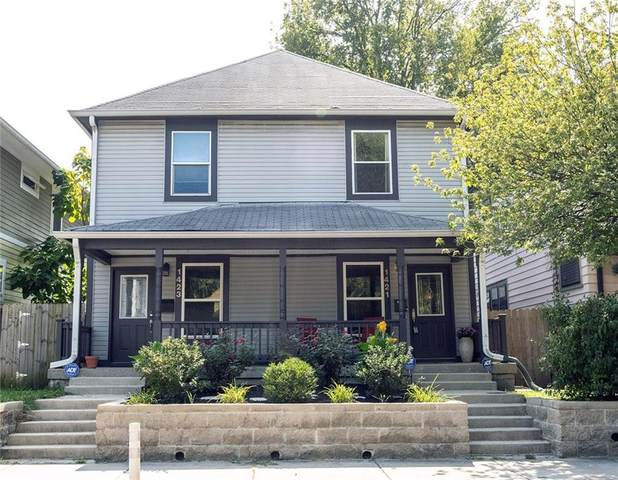 1421 E New York Street, Indianapolis, IN 46201 (MLS #21738964) :: Mike Price Realty Team - RE/MAX Centerstone