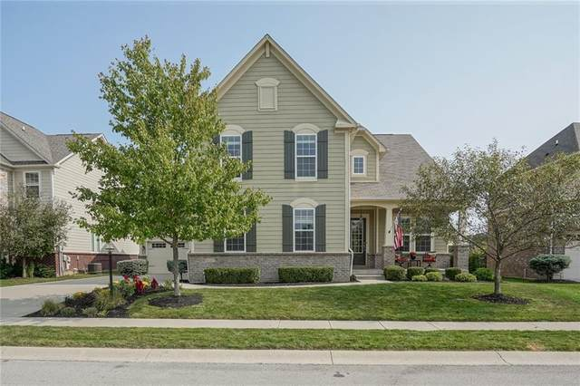 2705 E High Grove Circle, Zionsville, IN 46077 (MLS #21739060) :: David Brenton's Team