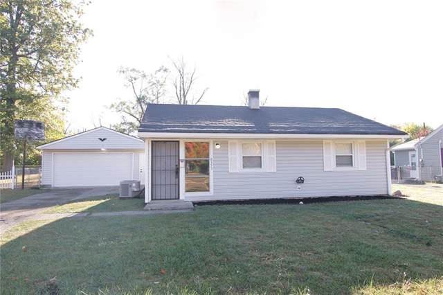 8353 Harrison Drive, Indianapolis, IN 46226 (MLS #21739081) :: AR/haus Group Realty