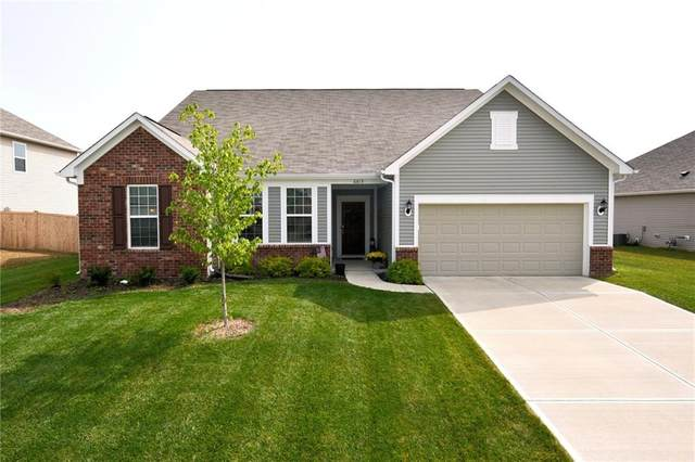 6613 Flat Ridge Lane, Brownsburg, IN 46112 (MLS #21739098) :: David Brenton's Team