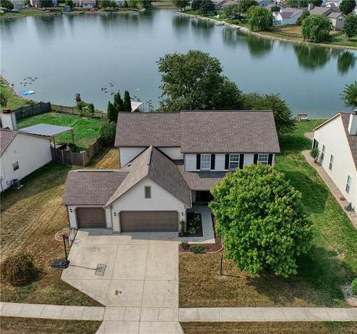 1486 Harrison Drive, Greenwood, IN 46143 (MLS #21739230) :: The Evelo Team