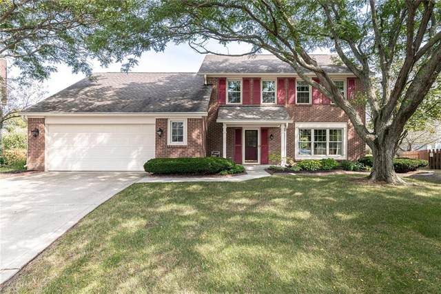 8516 Mcnutt Circle, Indianapolis, IN 46256 (MLS #21739251) :: The ORR Home Selling Team