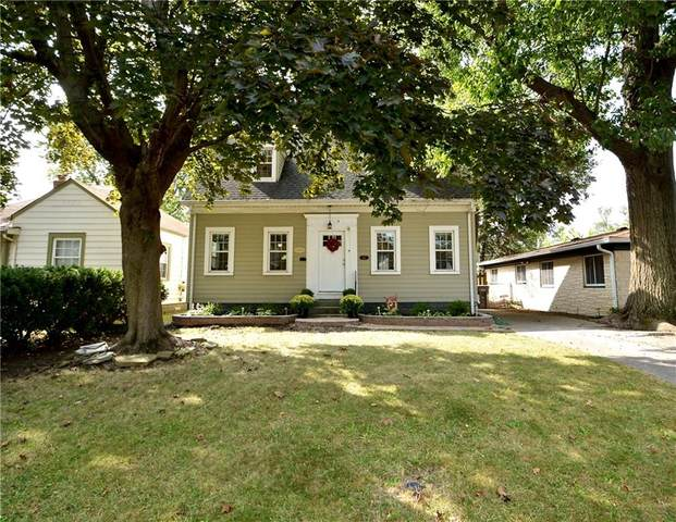 5127 E 9th Street, Indianapolis, IN 46219 (MLS #21739296) :: AR/haus Group Realty