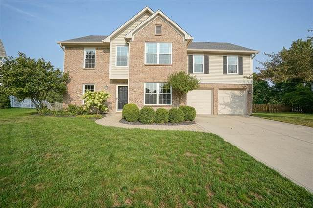 9640 Bradford Knoll Drive, Fishers, IN 46037 (MLS #21739306) :: The Evelo Team