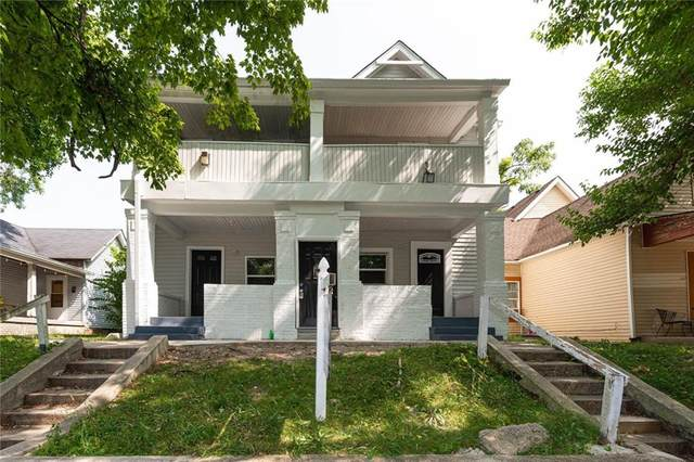 1105 Jefferson Avenue, Indianapolis, IN 46201 (MLS #21739321) :: AR/haus Group Realty