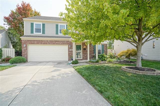 9215 Crossing Drive, Fishers, IN 46037 (MLS #21739325) :: Mike Price Realty Team - RE/MAX Centerstone