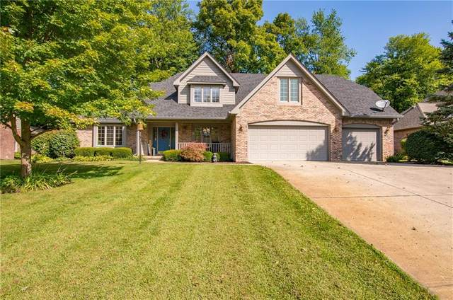 7702 W Williamswood Drive, New Palestine, IN 46163 (MLS #21739452) :: Mike Price Realty Team - RE/MAX Centerstone