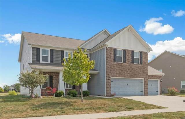 8839 Springview Drive N, Mccordsville, IN 46055 (MLS #21739477) :: The Evelo Team