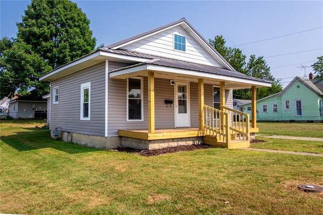 426 W 1st Street, Rushville, IN 46173 (MLS #21739577) :: David Brenton's Team