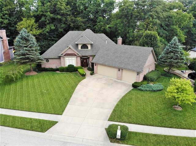 4211 Sagewood Court, Greenwood, IN 46143 (MLS #21739586) :: The ORR Home Selling Team