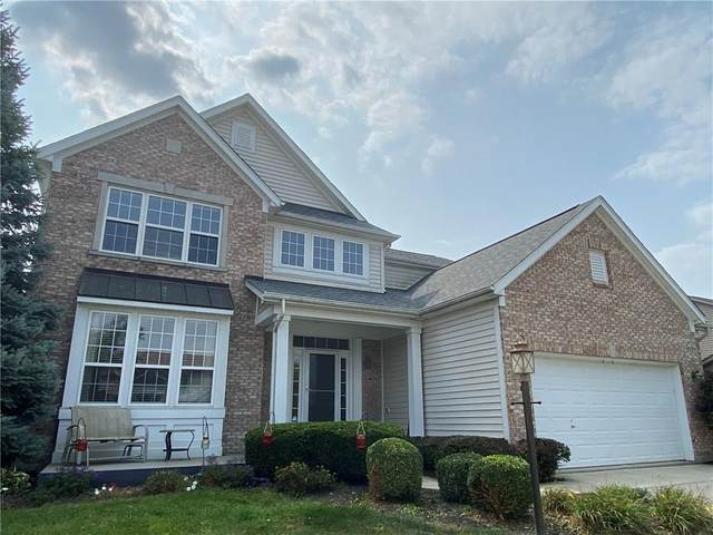 8881 Lindsey Court, Fishers, IN 46038 (MLS #21739633) :: David Brenton's Team