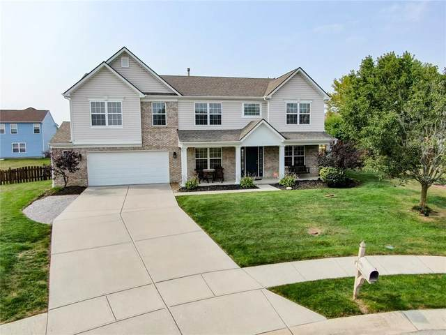 10811 Kaplan Court, Fishers, IN 46038 (MLS #21739690) :: The Evelo Team